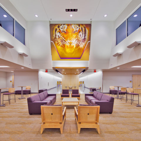 LSU Basketball Lounge